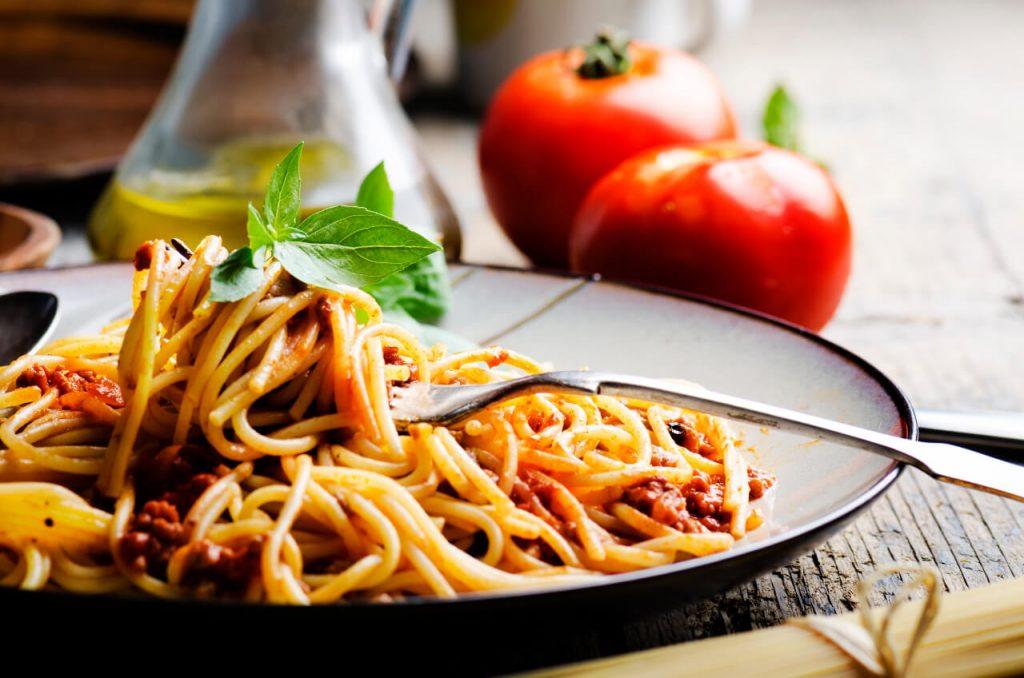 Vegetariánske boloňské špagety - vegetarianske jedlá (zeleninové recepty)